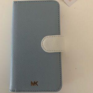 iPhone X Folio Case with strap